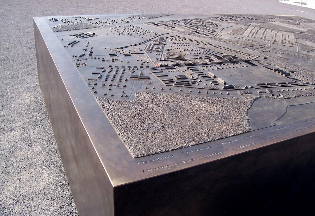 Topografisches Modell Sachsenhausen